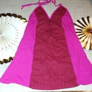 Free People Halter Dress Tunic Size M